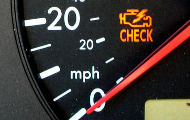 CHECK ENGINE LIGHT ON. Car Diagnostics In Plymouth